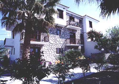 "Right on the long sandy beach of Petra, one of North Aegean's most known resort, on the Greek island of Lesvos, you will find ""ISLANDS"" Studios & Apartments."